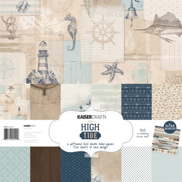 Happymade - KaiserCraft design paper - High Tide Collection